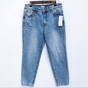 TOBI 100% Cotton High Rise Skinny Jeans